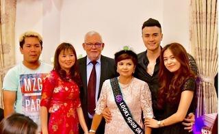 Vĩnh Thụy đưa Hoàng Thùy Linh về ra mắt gia đình trong sinh nhật mẹ?