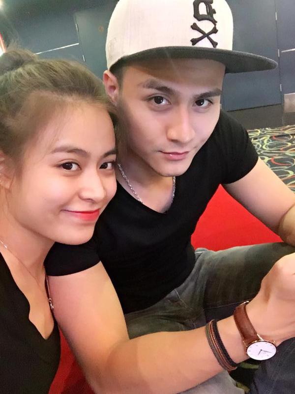Hoàng Thùy Linh và bạn trai
