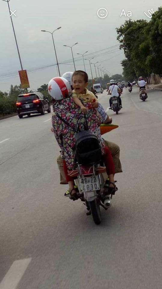 Cháu bé mất tích ở Quảng Bình