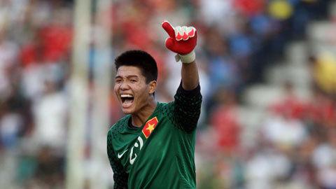Minh Long - trụ cột của ĐTQG Việt Nam trong tương lai. Ảnh: Thể thao