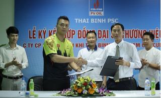 Phạm Cao Cường trở thành đại sứ thương hiệu Nước khoáng Thiên nhiên Tiền Hải