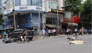 Nữ tài xế lái bán tải tông liên hoàn khiến 3 người thương vong