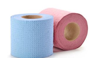Giấy vệ sinh có mùi thơm và màu sắc: