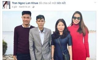 Phản ứng bất ngờ của Lan Khuê khi bố Phạm Hương đang trong cơn nguy kịch