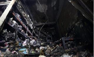 Cháy cửa hàng tạp hóa ở Hà Nội khiến 2 mẹ con chết thảm lúc rạng sáng