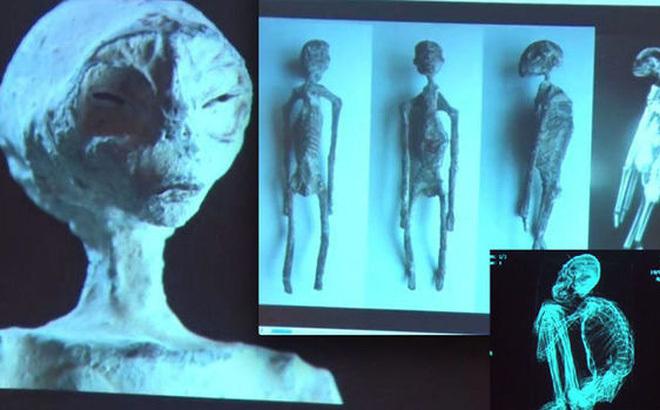 Phát hiện nghi xác ướp người ngoài hành tinh của nhà nghiên cứu UFO Jaime Maussan gây nhiều tranh cãi. Ảnh: Express.co.uk