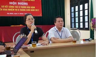 """Vụ cán bộ phường """"hành""""dân xin giấy báo tử: Đoàn Kiểm tra công vụ vào cuộc"""