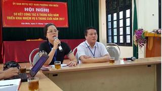 """Điều chuyển một cán bộ phường Văn Miếu vì """"bị tố làm khó dân"""""""