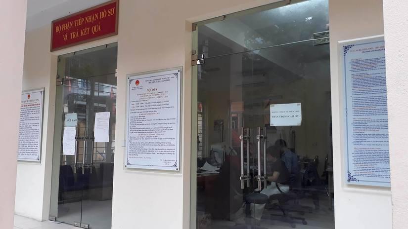 hành dân xin giấy chứng tử
