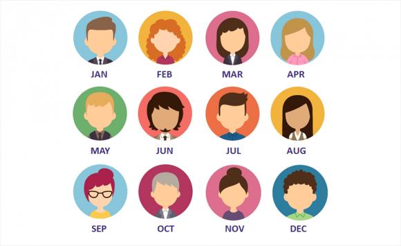 Những người cùng tuổi nhưng tháng sinh khác nhau thì số mệnh cũng khác nhau. Ảnh minh họa