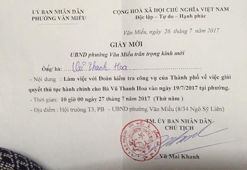 UBND phường Văn Miếu 2