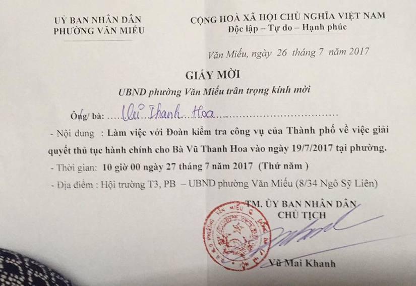 UBND phường Văn Miếu 3