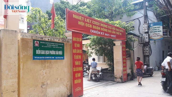 UBND phường Văn Miếu 1