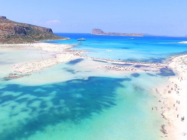 Khung cảnh tuyệt vời của hòn đảo Crete. Ảnh: Independent