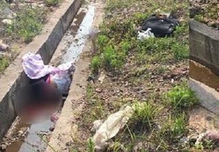 Bắt xe về quê, người phụ nữ bị xe bán tải đâm văng xuống rãnh nước tử vong