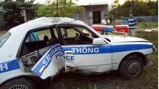 4 CSGT bị thương khi truy đuổi nhóm đối tượng chở ma túy