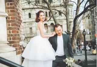 Ngọc Trinh và Vũ Khắc Tiệp chụp ảnh cưới ở Úc?