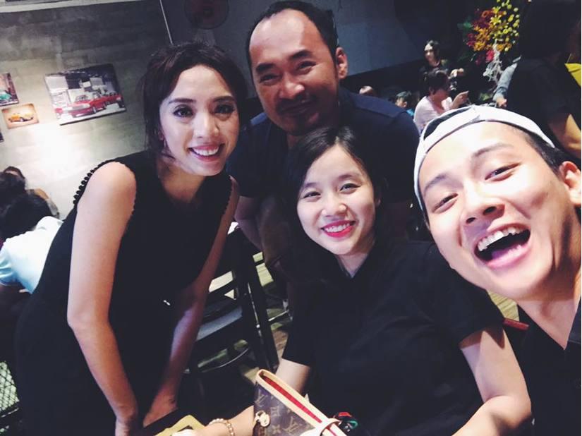 Hoài Lâm và bạn gái 2