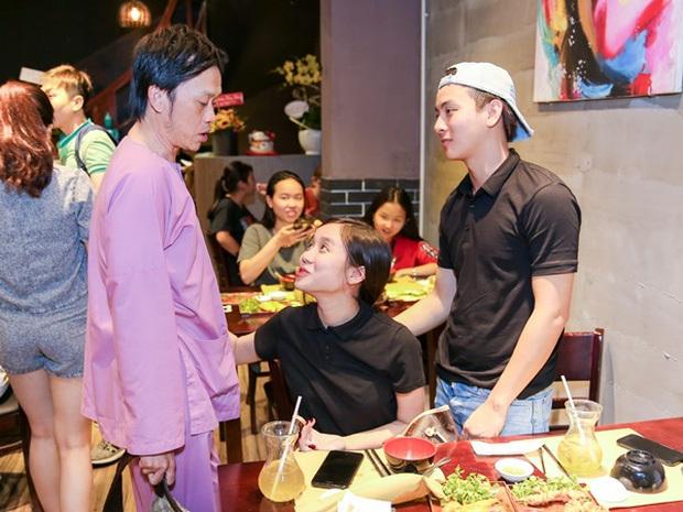 Hoài Lâm và bạn gái