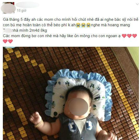 Trẻ bú sữa mẹ
