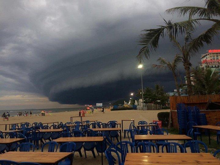 đám mây ở Sầm Sơn