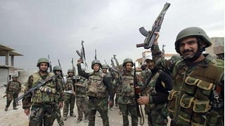 Huyết chiến ở Al-Sukhnah nhưng vẫn thất bại trước quân đội Syria, IS trả giá bằng 65 tay súng