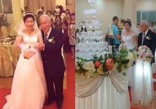 Xôn xao với đám cưới của cặp đôi