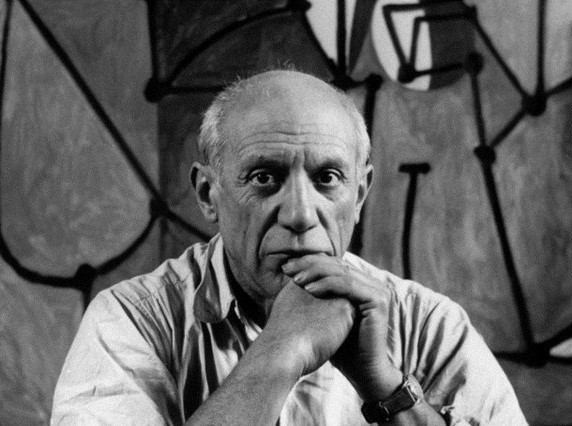 Họa sỹ thiên tài Picasso.