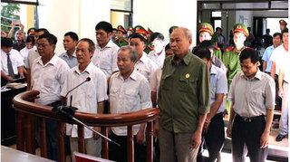 14 cựu cán bộ sai phạm đất ở Đồng Tâm hầu tòa