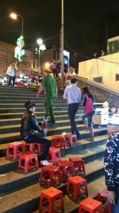 du khách nước ngoài bị chặt chém ở Đà Lạt