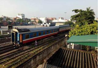 Tàu trật bánh ở ga Yên Viên: Lí giải nguyên nhân của sự cố