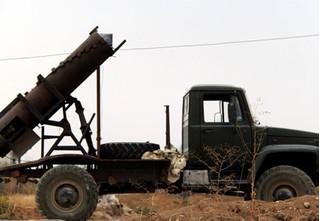 Syria dùng tên lửa IRAM hạng nặng bắn phá phiến quân cố thủ ngoại ô Damascus