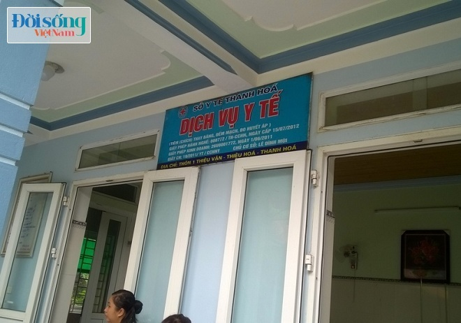 phòng khám dỏm ở Thanh Hóa