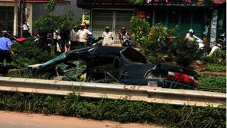Chủ tịch hội Khuyến học huyện bị tàu hỏa tông tử vong