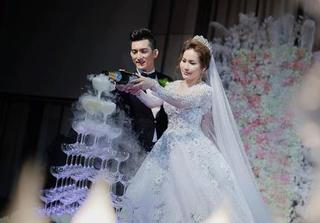 Bảo Duy tung bộ ảnh đẹp lung linh trong ngày cưới lần ba