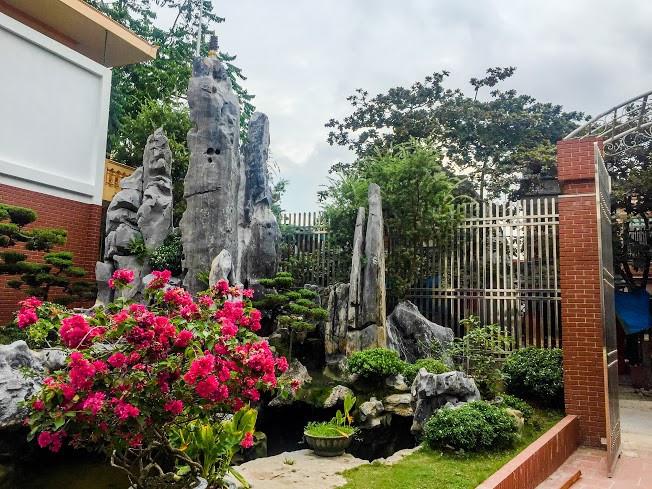 sân vườn nhà đại gia Phú Thọ