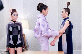 The Face 2017: Phương Chi khóc nức nở, bật lại HLV khi bị Hoàng Thùy đưa vào phòng loại trừ
