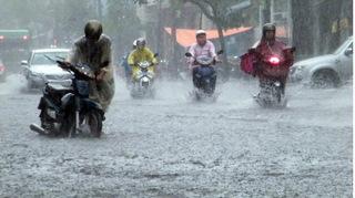 Hôm nay, Bắc Bộ bắt đầu bước vào đợt mưa dông diện rộng