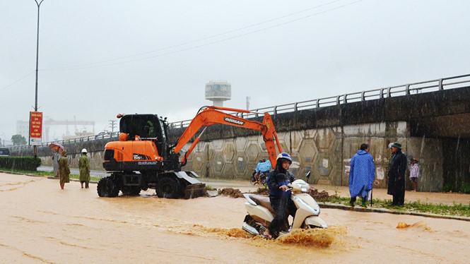mưa ở Quảng Ninh