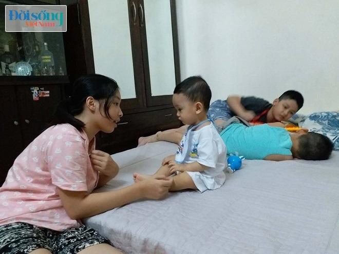 Bé trai bị bạo hành ở Hà Nội 3