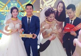 Đám cưới bạc tỷ ở Nghệ An: Cô dâu chú rể nhận hồi môn bằng vàng, xe sang và... sổ đỏ biệt thự