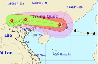 Ảnh hưởng của bão số 6, vùng núi mưa to và nguy cơ cao xảy ra lũ quét