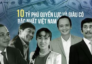 10 tỷ phú quyền lực và giàu có nhất sàn chứng khoán Việt 2017