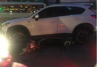 Người phụ nữ lái xe Mazda CX-5 gây tai nạn liên hoàn khiến nhiều người bị thương
