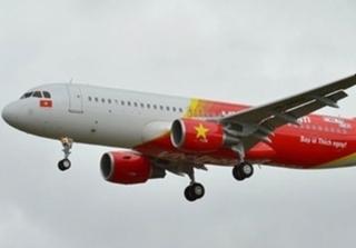 Máy bay VietJet hạ cánh khẩn cấp tại Hong Kong vì cảnh báo cháy