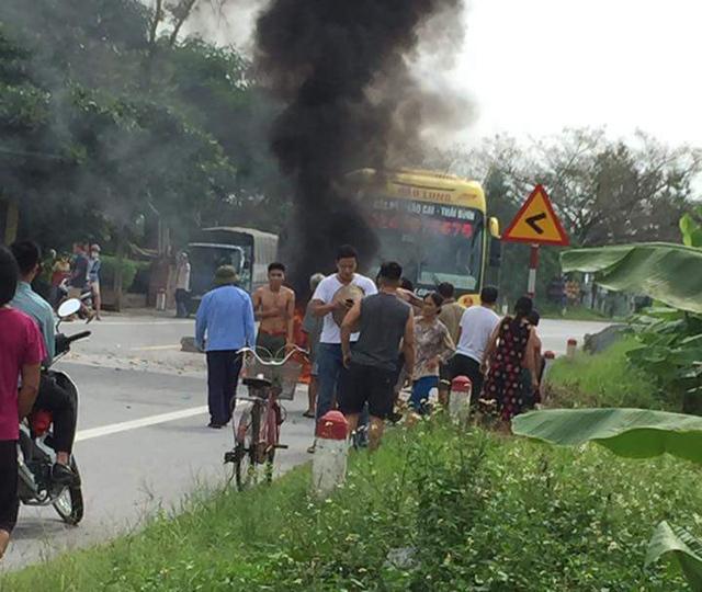 Người phụ nữ bị bỏng nặng do nổ bình ga mini