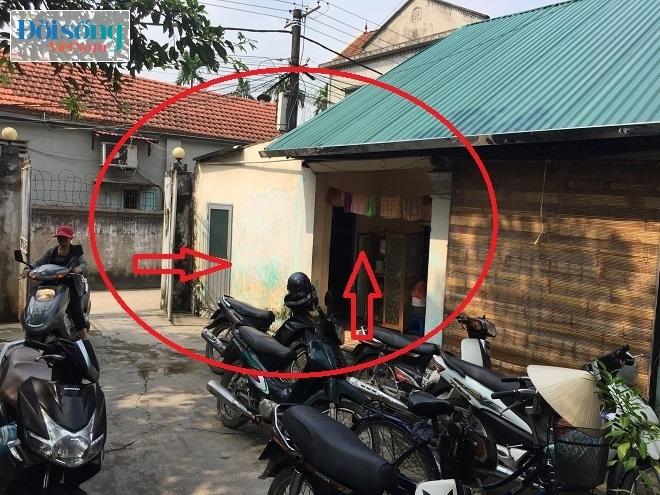 Khu vực bếp nơi xảy ra rò rỉ khí gas khiến 3 người bị bỏng