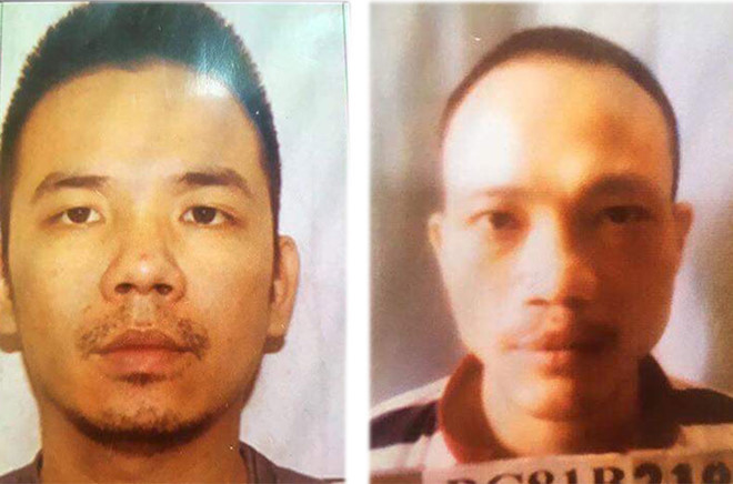 Hai tử tù bỏ trốn