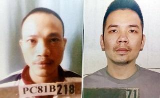 Hai tử tù trốn khỏi trại giam T16 Bộ Công an đã bị bắt giữ