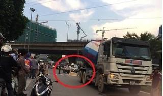 Chưa tìm được người thân cô gái bị xe bồn cán tử vong trên đường ở Hà Nội